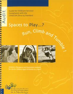 Spaces to play...? Run, Climb and Tumble!